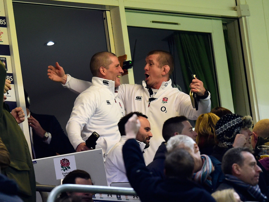 As do they: Stuart Lancaster and Graham Rowntree