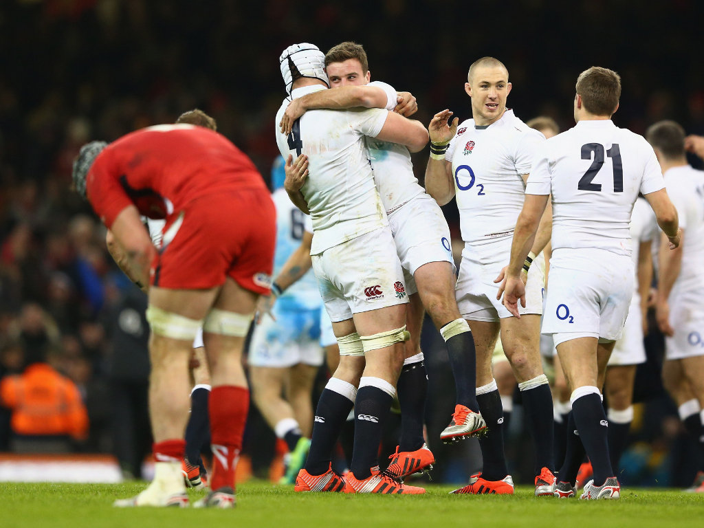 Victory: England can celebrate