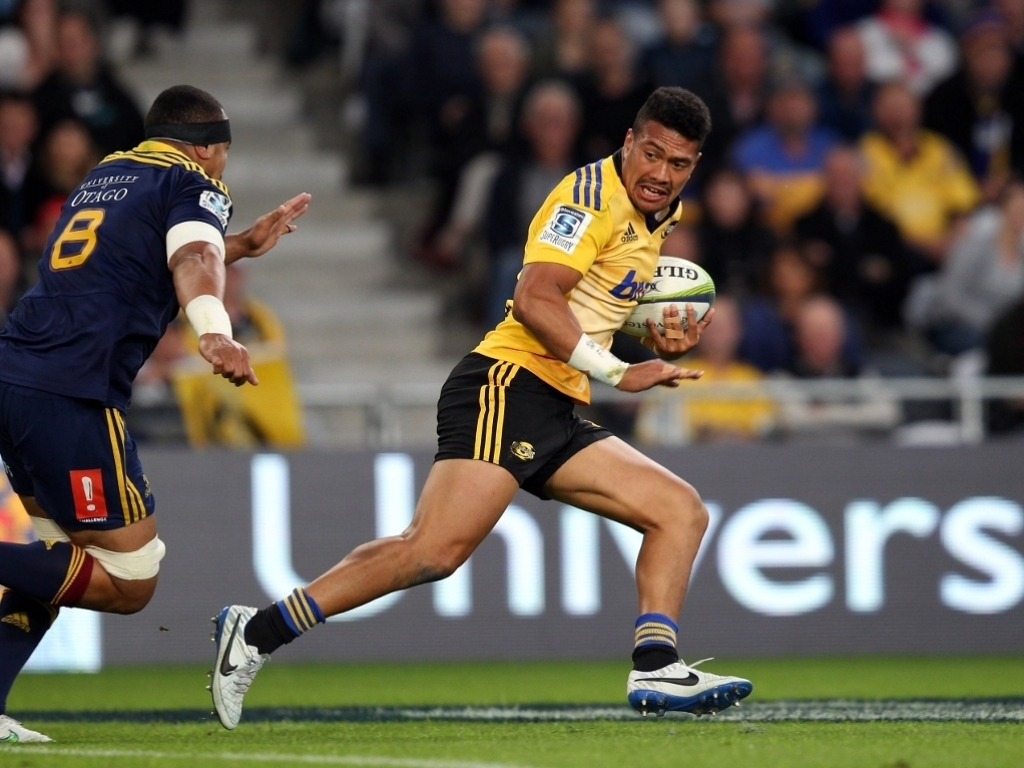 Injured later on: Ardie Savea