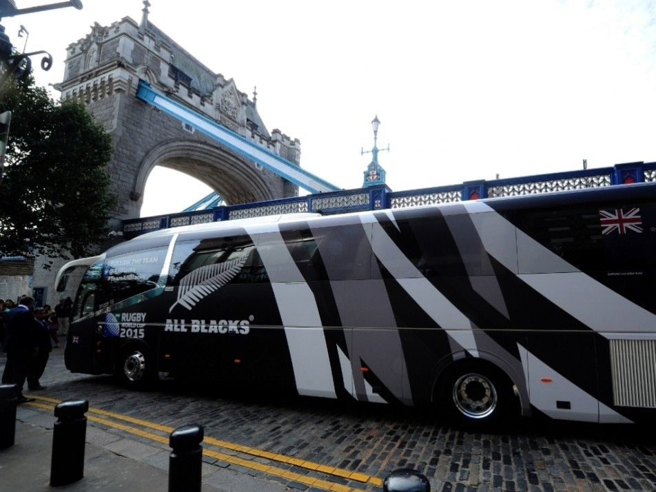 All Blacks Bus