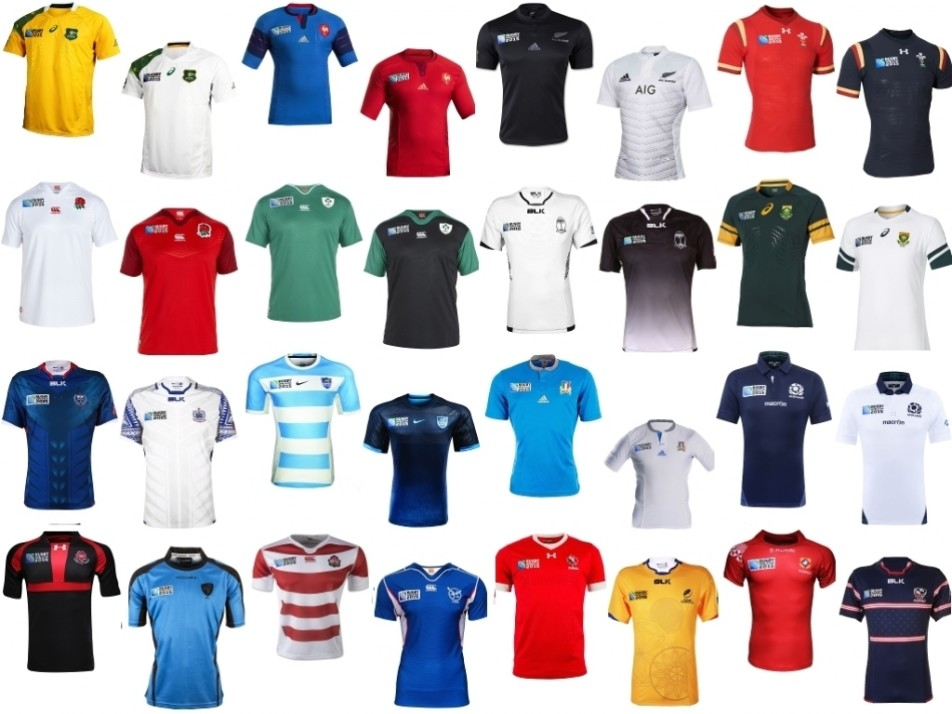 World Cup 2015 kits