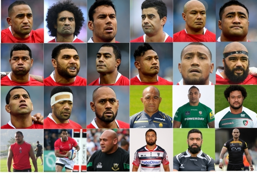 Tongan Football Players