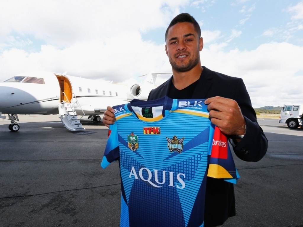Code Hopper Jarryd Hayne Will Return To Rugby League After It Was Announced On Wednesday That He Has Signed A Two Year Deal With NRL Side The Gold Coast