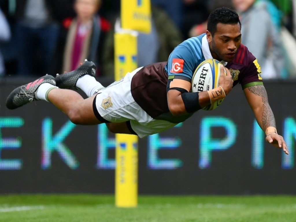 Harlequins Climbed Back Up The Table After An Important 20 9 Win Over Northampton Saints At Stoop On Saturday